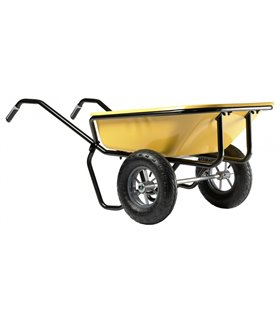 Brouette 160 litres 2 roues à caisse peinte
