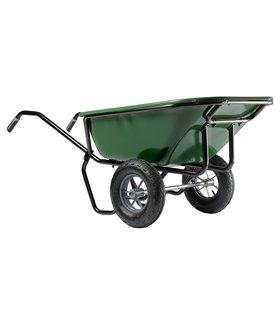 Brouette 230 litres 2 roues à caisse peinte