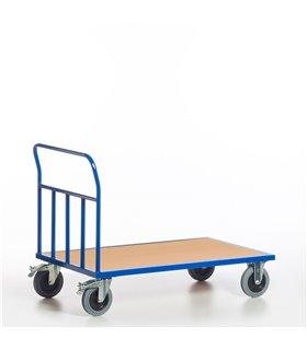 Chariot à dossier anti-chute