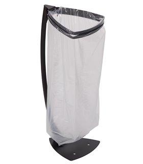 Support sac poubelle triangle sur poteau