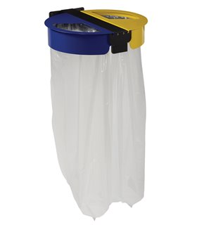 Support sac poubelle mural 2x110 Litres