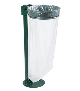 Support sac poubelle sur platine sans couvercle 110 Litres