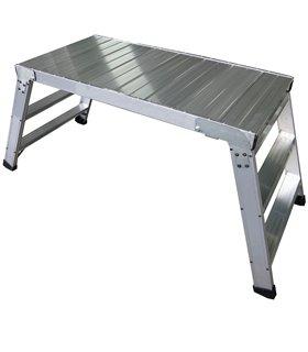 Banc-Plateforme de travail en aluminium