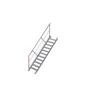 Escalier droit inclinaison 45°
