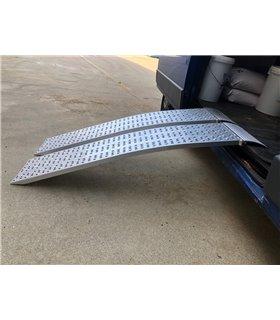 Rail de chargement incurvé en aluminium charge jusqu'à 900kg