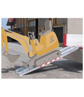 Rail de chargement aluminium pour engins lourds