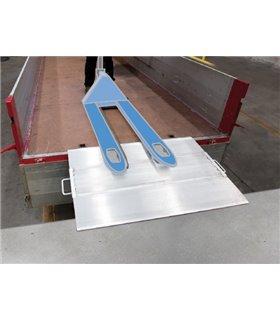 Pont de chargement amovible Quai/Véhicule charges lourdes