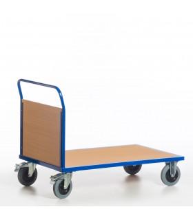 Chariot à dossier bois