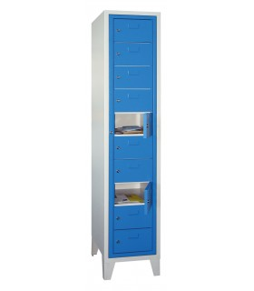 Armoire distributrice a porte centralisee