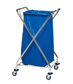 Porte sac mobile pour déchet papier
