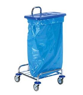 Porte sac mobile pour tri sélectif