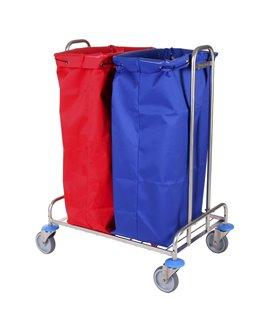 Porte sac mobile inox
