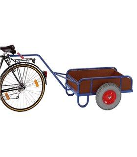 Remorque à vélo tout terrain à côtés pleins