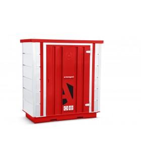Container de stockage avec rétention