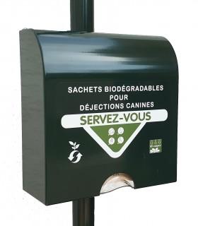 Distributeur de sachet papier bio en Liasse