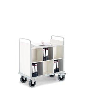 Chariot pour transport de classeurs