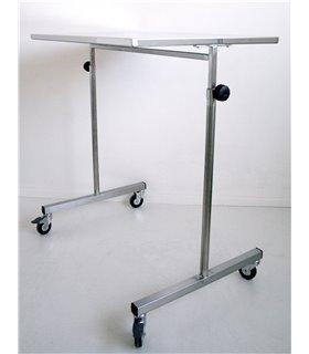 Table-pont réglable en hauteur