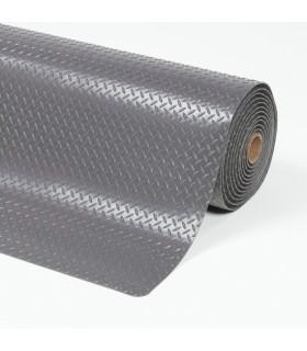 Tapis ergonomique anti-dérapant surface en tôle de diamant