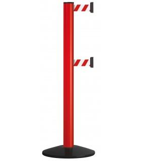 Poteau à double sangle de sécurité 2x2,3m