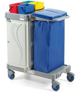 Chariot de ménage hospitalier
