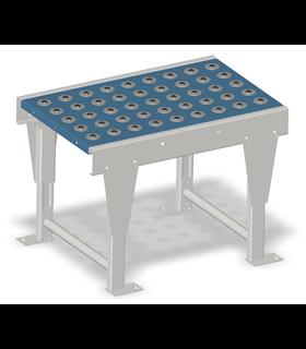 Table à billes porteuses en acier