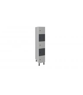 Armoire casier en mélaminé 5 cases L300mm
