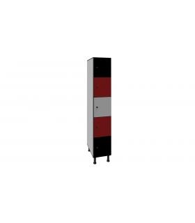 Armoire casier en stratifié 5 cases L300mm