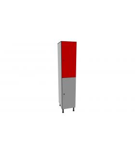 Vestiaire stratifié bi-places L400mm