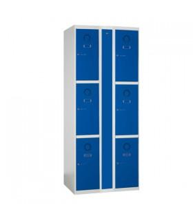 Armoire de rechargement 2 colonnes 3 cases L400mm