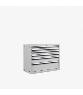 Armoire 6 tiroirs L1023xP572xH1000mm