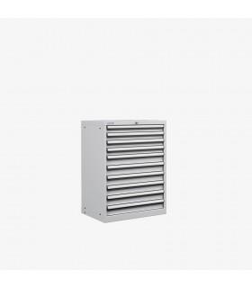 Armoire 10 tiroirs équipés L717xP572xH1000mm