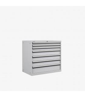 Armoire 7 tiroirs équipés L1023xP725xH1000mm