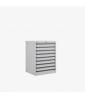 Armoire 9 tiroirs équipés L717xP725xH1000mm