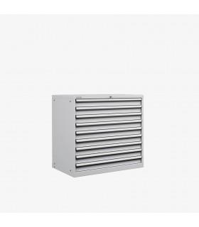Armoire 9 tiroirs équipés L1023xP725xH1000mm
