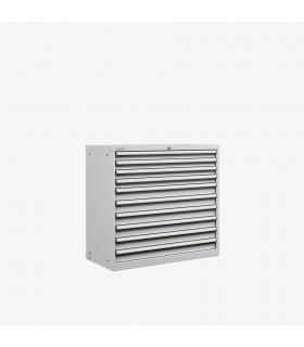 Armoire 10 tiroirs équipés L1023xP572xH1000mm