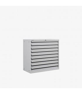Armoire 9 tiroirs équipés L1023xP572xH1000mm