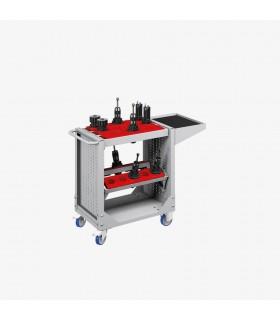Chariot porte-outils CNC à 3 cadres