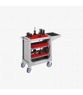 Chariot porte-outils CNC à 5 cadres