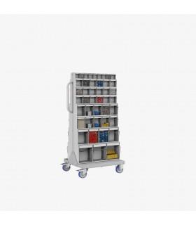 Chariot à casiers basculants