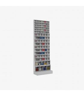Rack à casiers basculants Hauteur 1950mm
