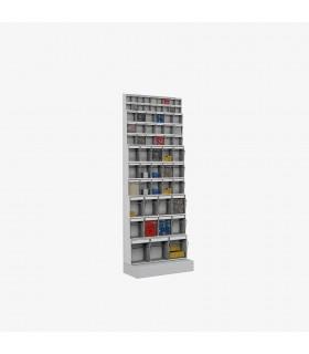 Rack à casiers basculants Hauteur 1750mm