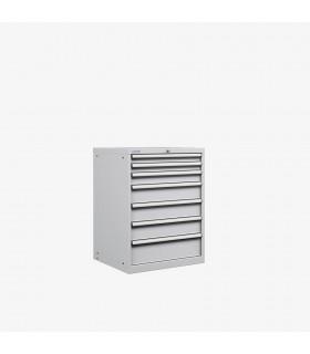 Armoire 7 tiroirs équipés L717xP725xH1000mm